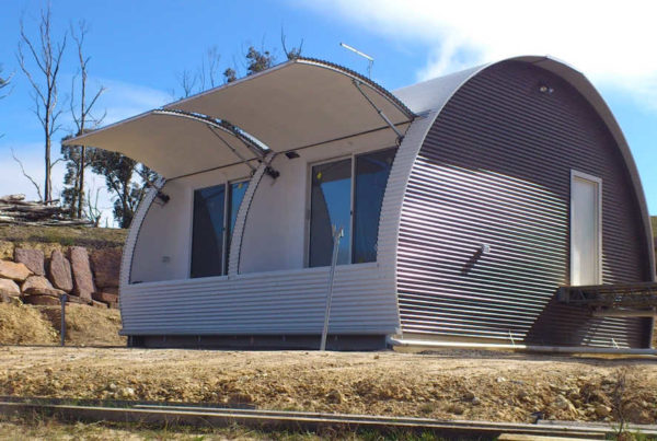 convertible pod tiny home