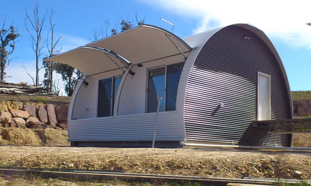 Convertible Pods (Tiny Homes) that are Fire and Storm Resistant